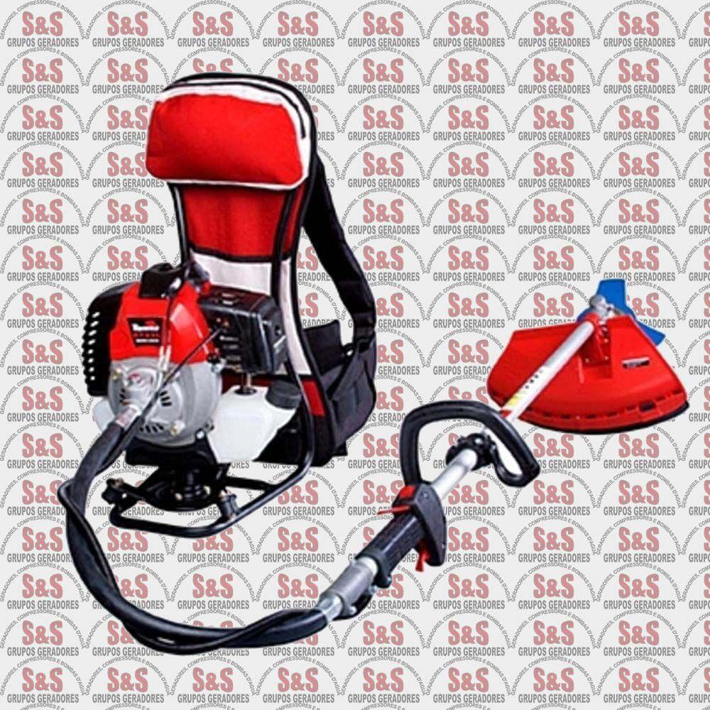 Roçadeira Lateral a Gasolina Semi Profissional - Motor 1,2 HP - 32,6 cc - RT33C - Toyama