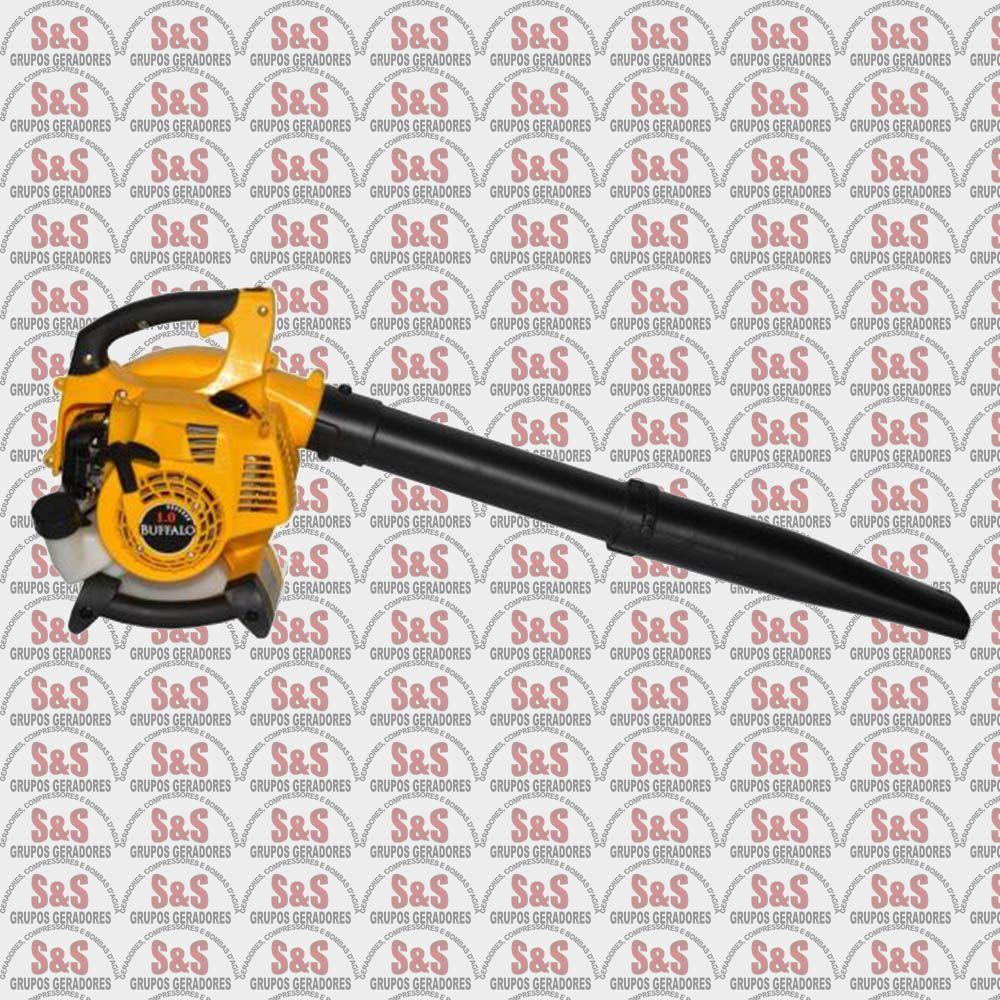 Soprador a Gasolina 2 Tempos - Cilindrada 25,4 cc - Volume de Ar 612 m3/hora - Tanque 500 ml - BFG260 - Buffalo