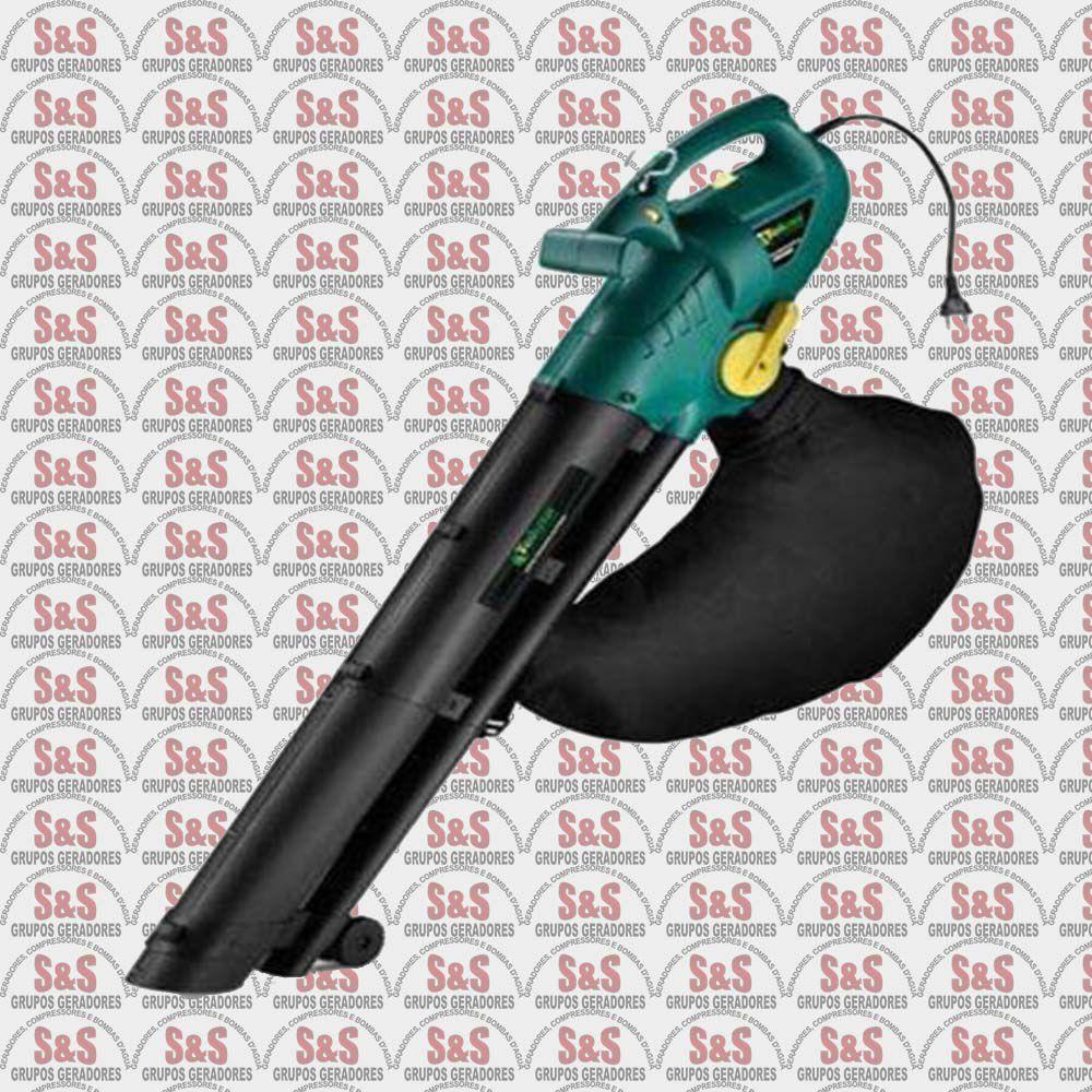 Sopro Aspirador Elétrico - 110V - 2000 W - Velocidade variável e bolsa 40L - VB2002 - Tekna