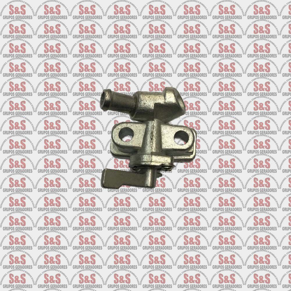 Torneira Combustível Diesel 2500 Á 15000 Toyama / Branco / Motomil