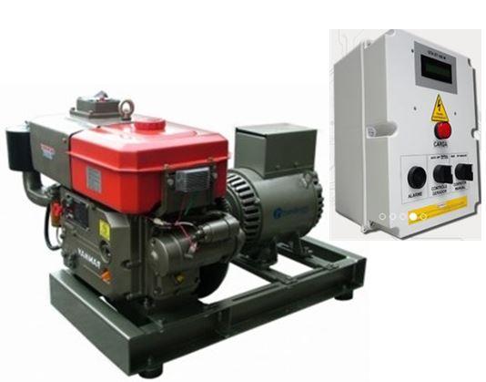5c0d9c8c9d6 Gerador de Energia Diesel 7.5kva Trifásico - YTGD075TE QTA - Yanmar - SS  GERADORES