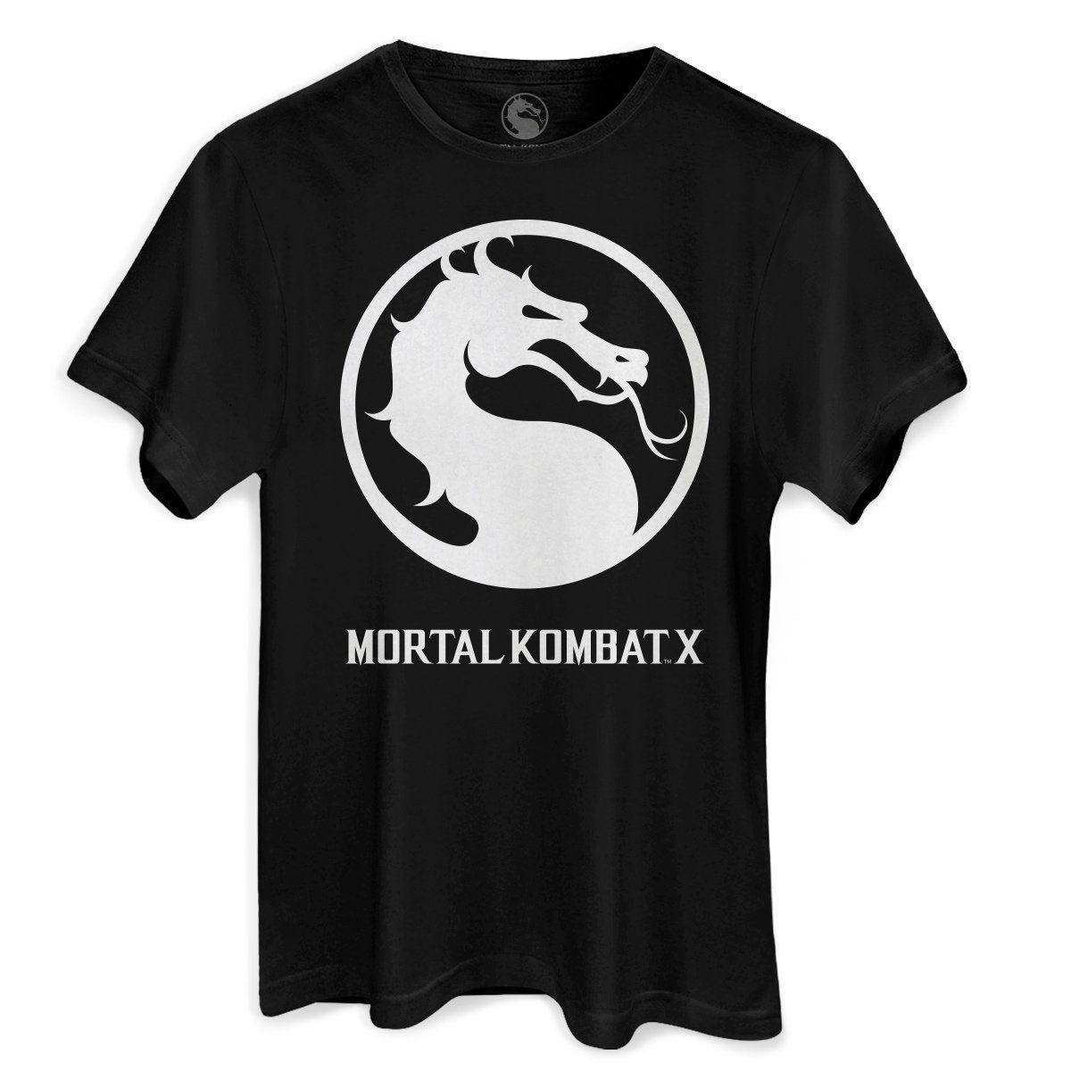 Camiseta Masculina Mortal Kombat X Logo  - bandUP Store Marketplace