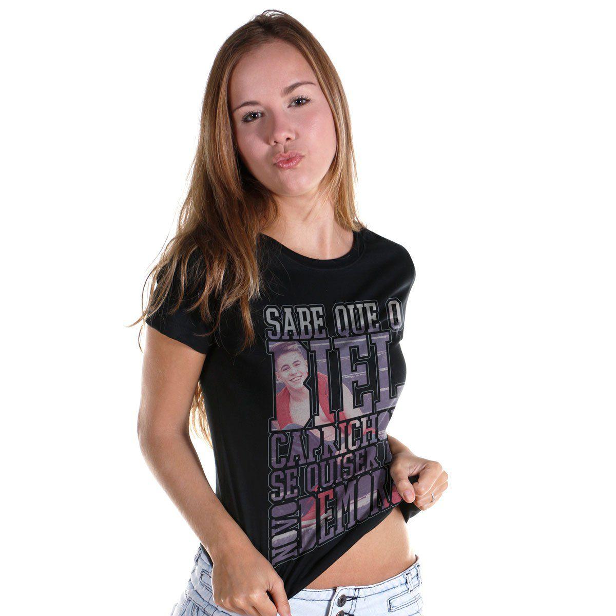 Camiseta Feminina Biel Demorô  - bandUP Store Marketplace