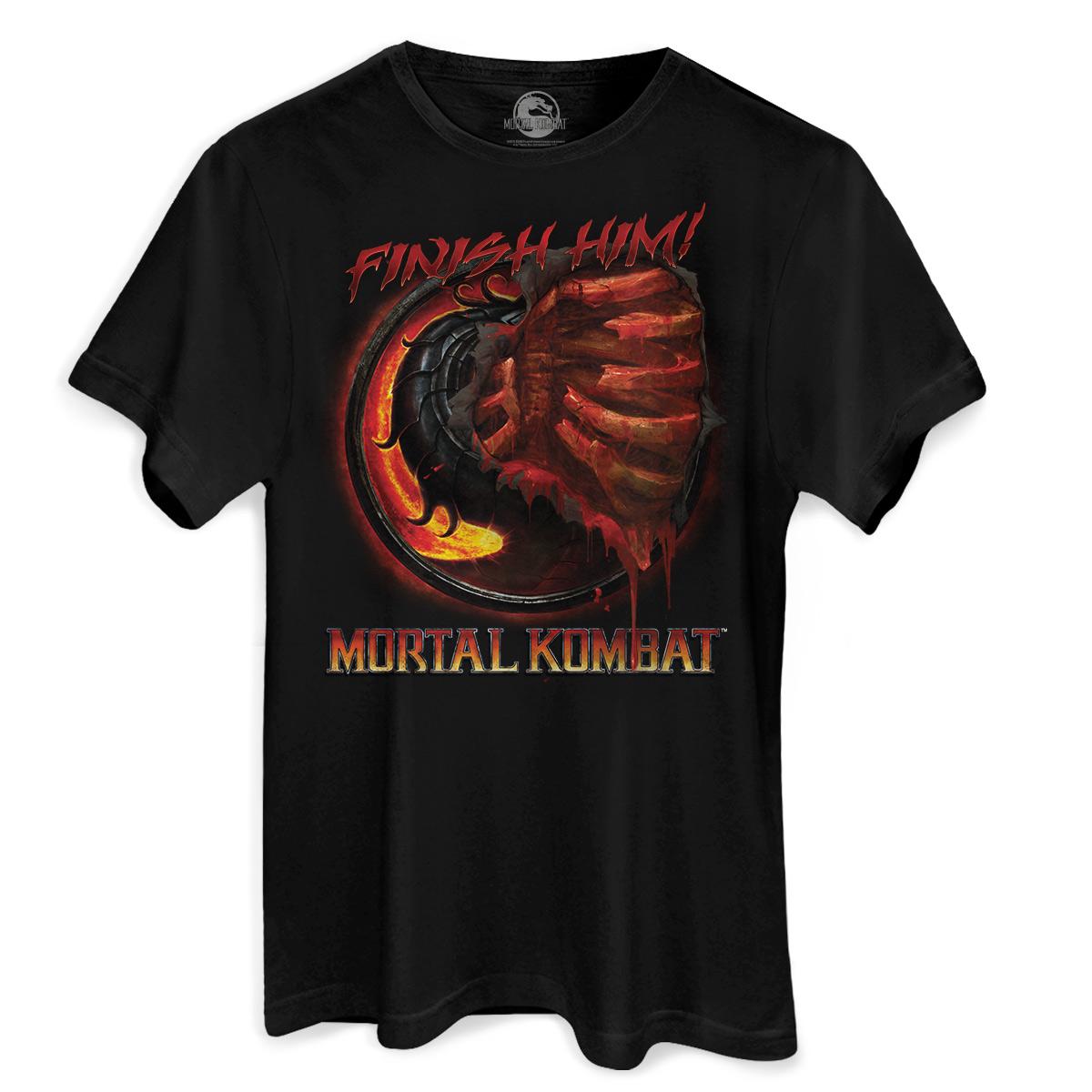 Camiseta Masculina Mortal Kombat Fatality  - bandUP Store Marketplace