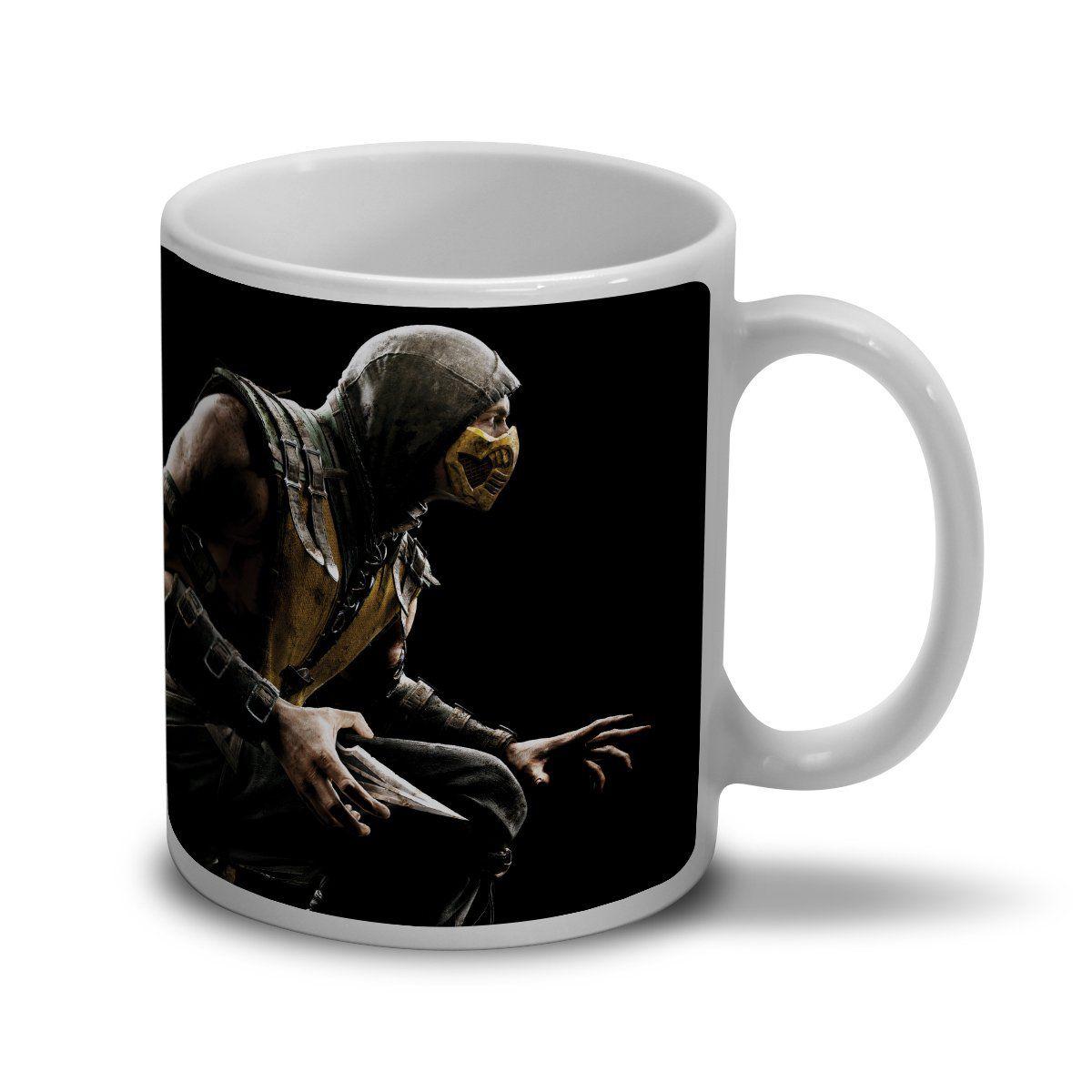 Caneca Mortal Kombat X Capa  - bandUP Store Marketplace