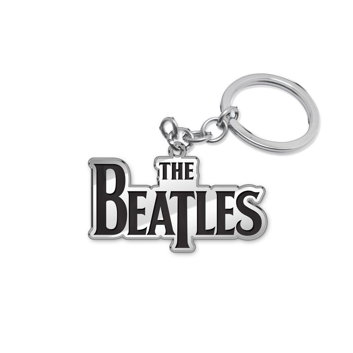 Chaveiro de Metal The Beatles Classic Logo 2  - bandUP Store Marketplace