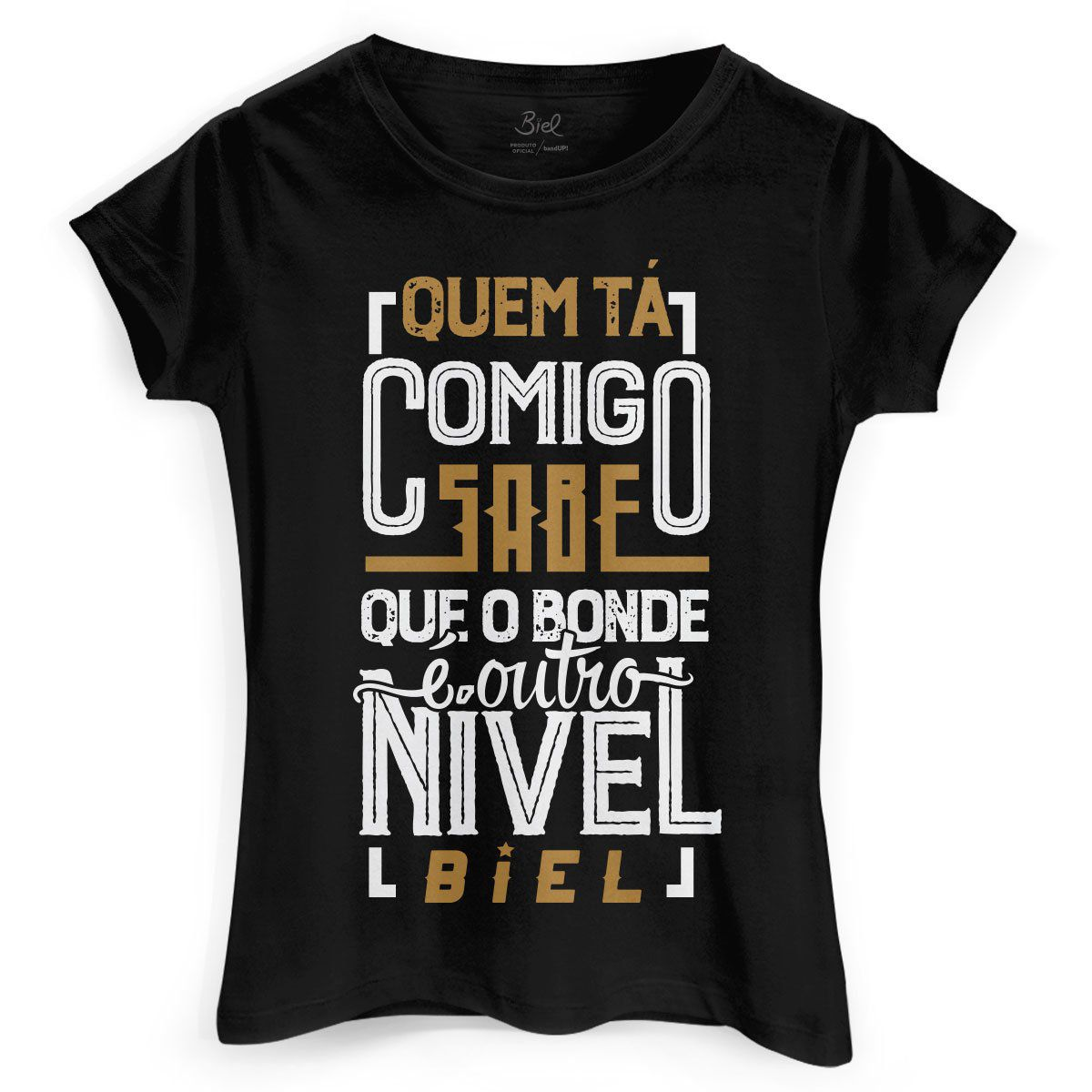 Camiseta Feminina Biel Tô Tirando Onda  - bandUP Store Marketplace