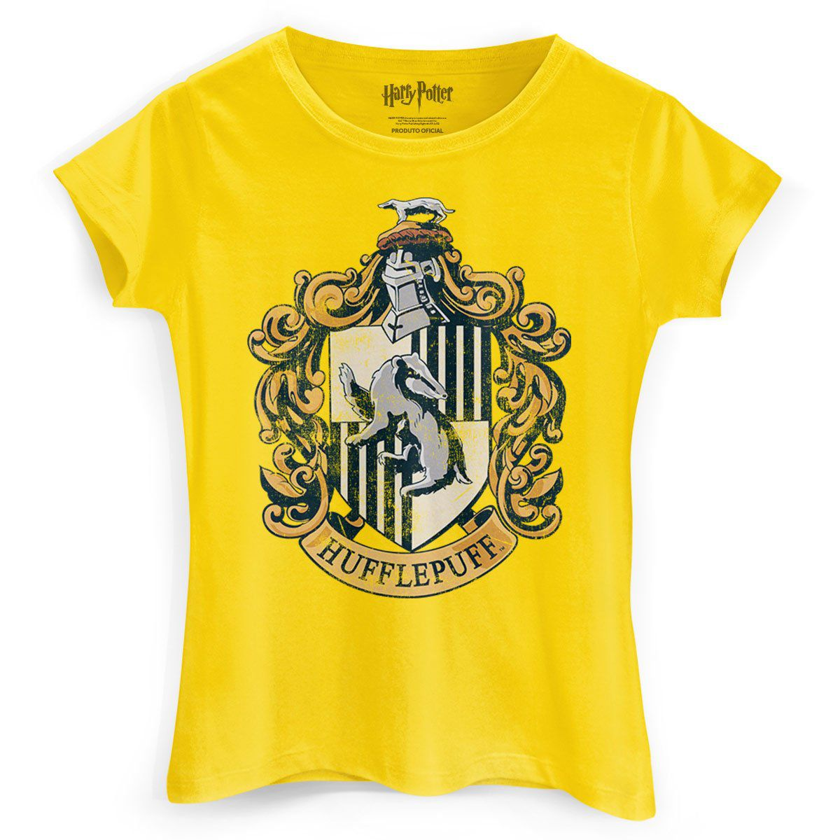 Camiseta Feminina Harry Potter Hufflepuff  - bandUP Store Marketplace