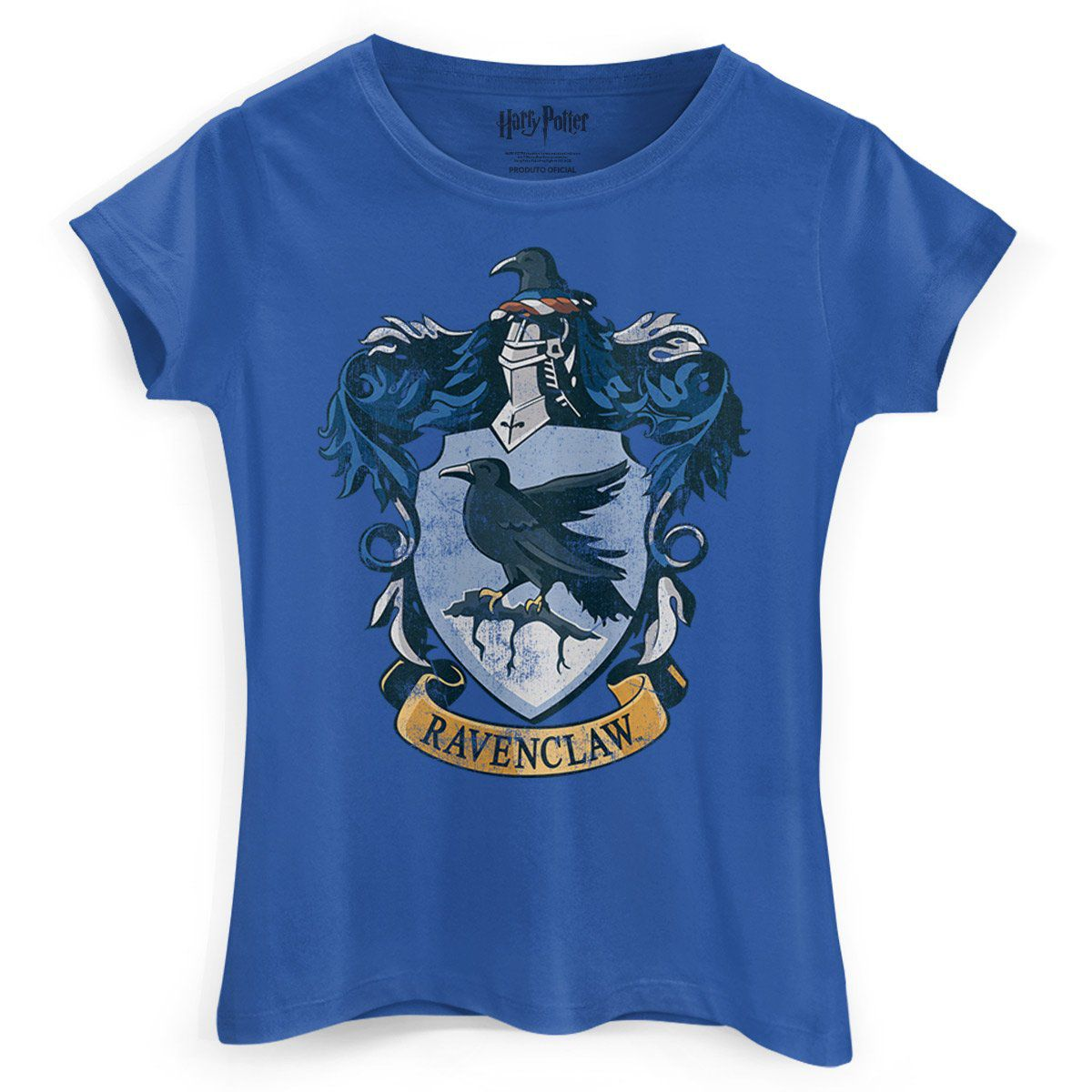 Camiseta Feminina Harry Potter Ravenclaw  - bandUP Store Marketplace