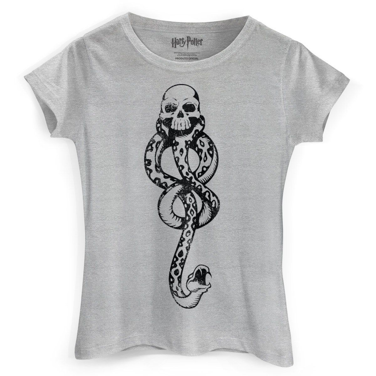 Camiseta Feminina Harry Potter A Marca Negra  - bandUP Store Marketplace