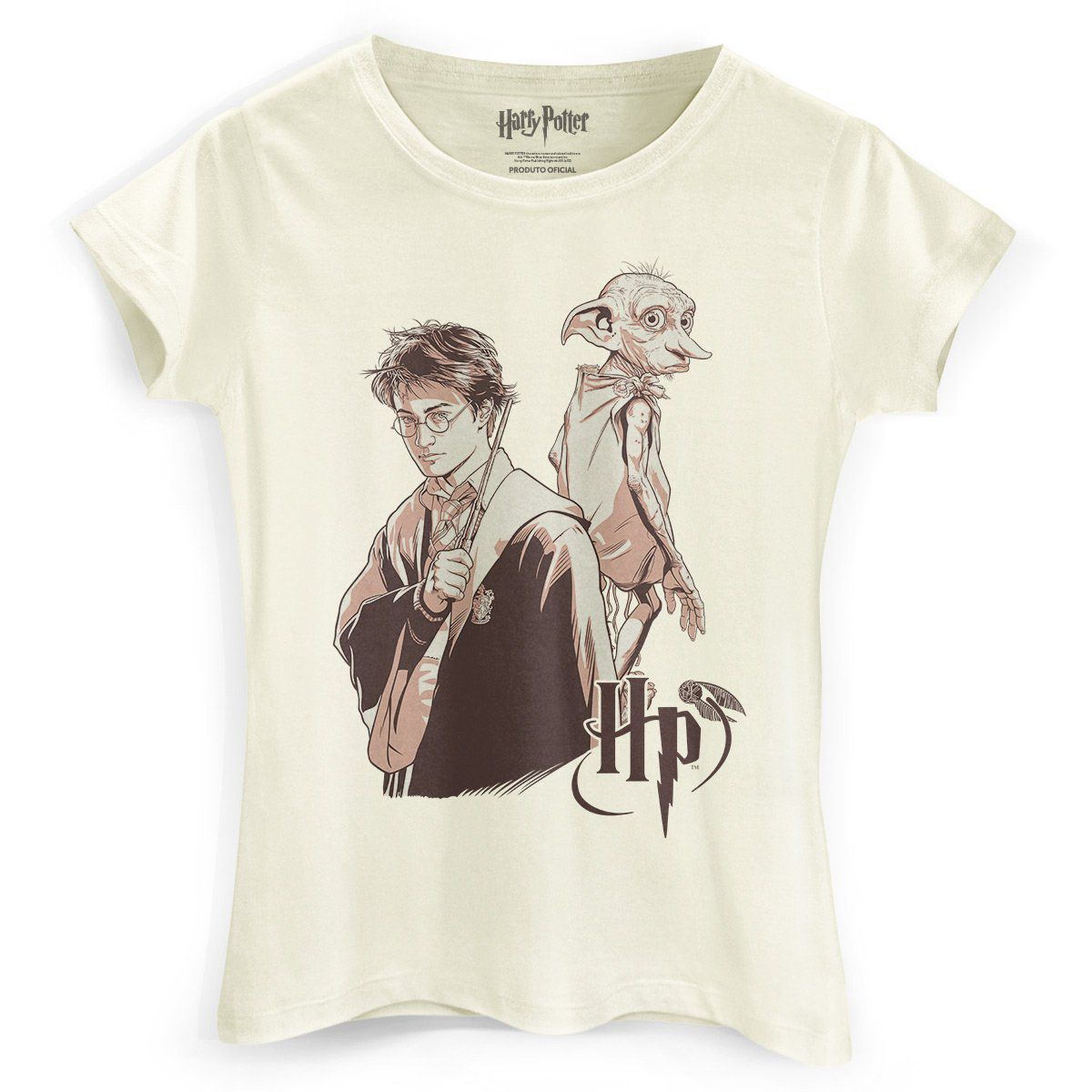 Camiseta Feminina Harry Potter Dobby  - bandUP Store Marketplace