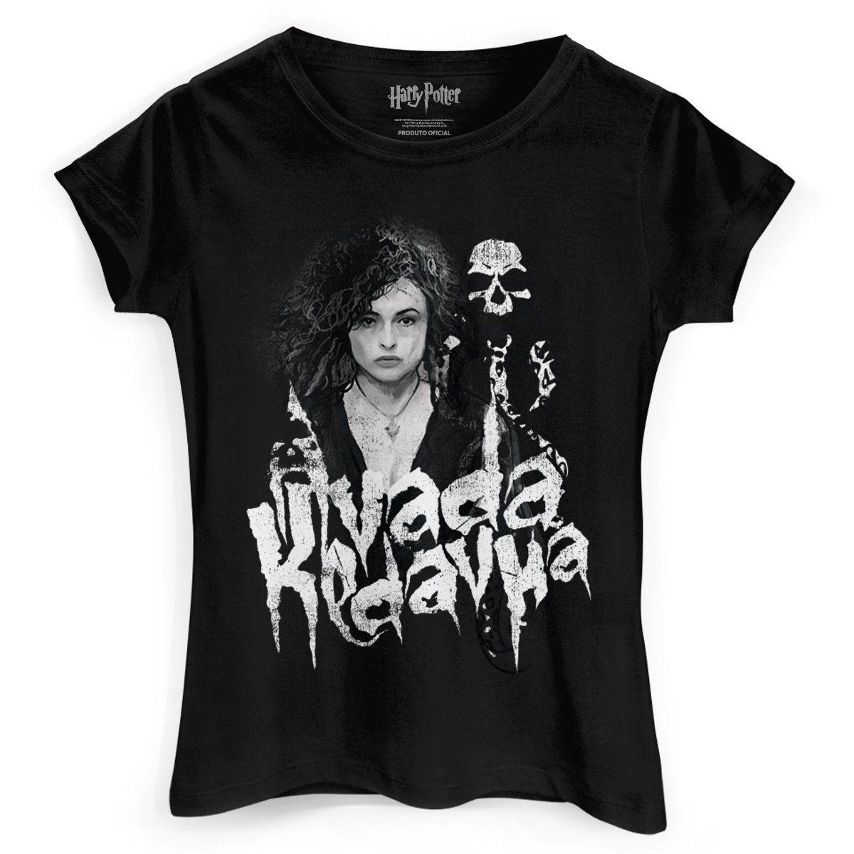 Camiseta Feminina Harry Potter Bellatrix Lestrange  - bandUP Store Marketplace