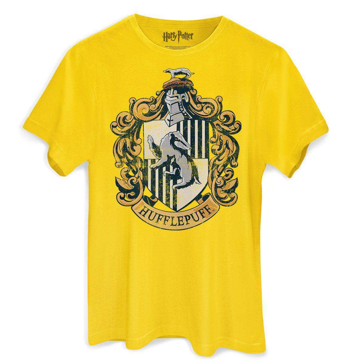 Camiseta Masculina Harry Potter Hufflepuf  - bandUP Store Marketplace