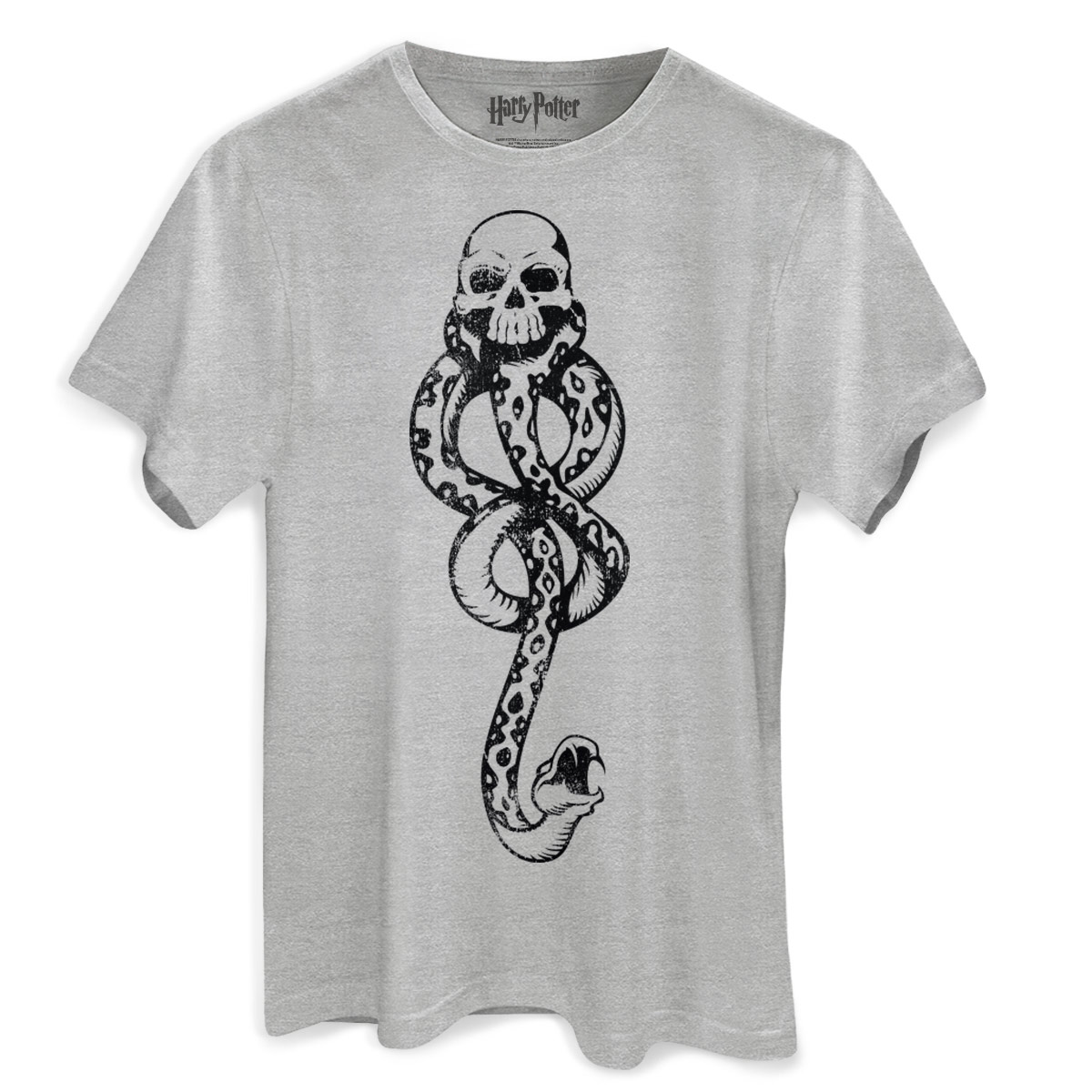 Camiseta Masculina Harry Potter A Marca Negra  - bandUP Store Marketplace