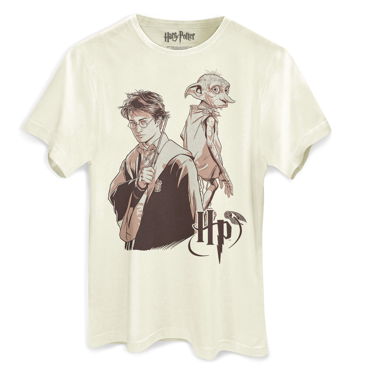 Camiseta Masculina Harry Potter Dobby  - bandUP Store Marketplace
