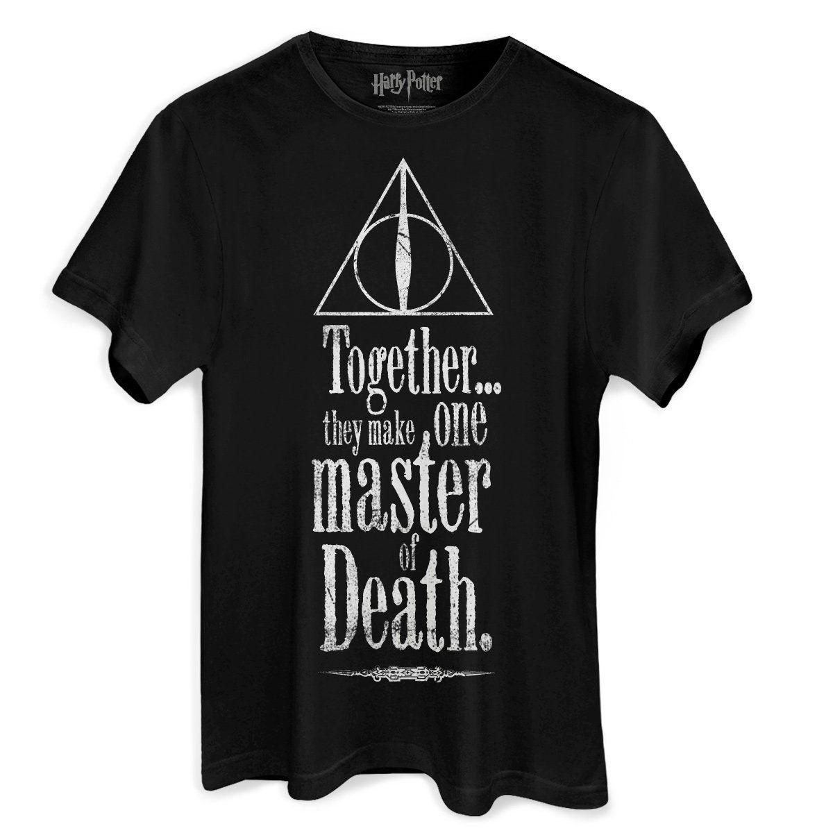 Camiseta Masculina Harry Potter The Deathly Hallows  - bandUP Store Marketplace
