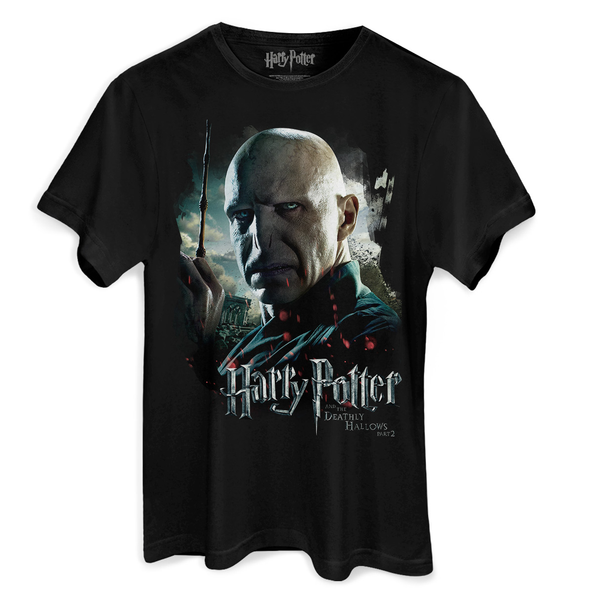 Camiseta Masculina Harry Potter Voldemort  - bandUP Store Marketplace