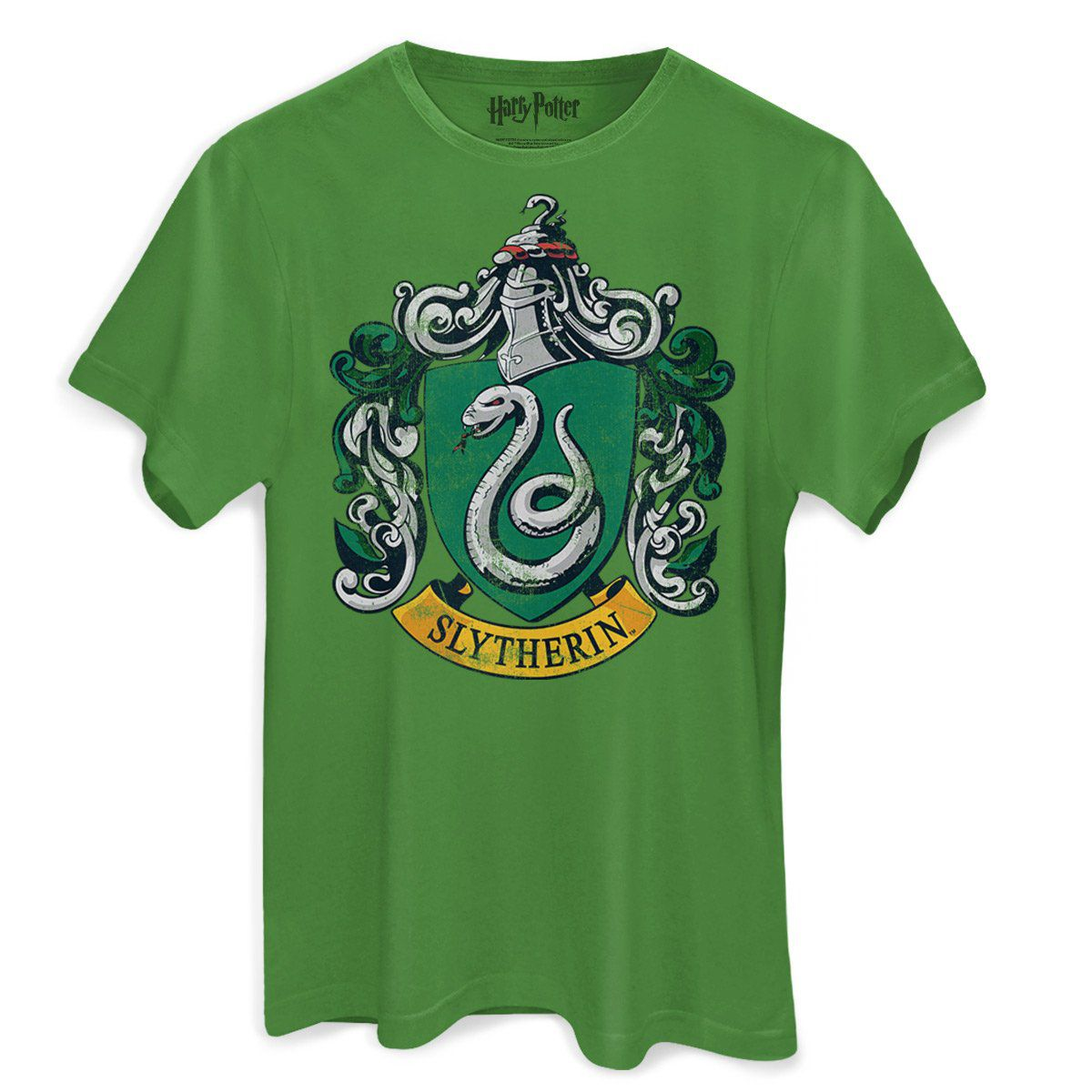 Camiseta Masculina Harry Potter Slytherin  - bandUP Store Marketplace