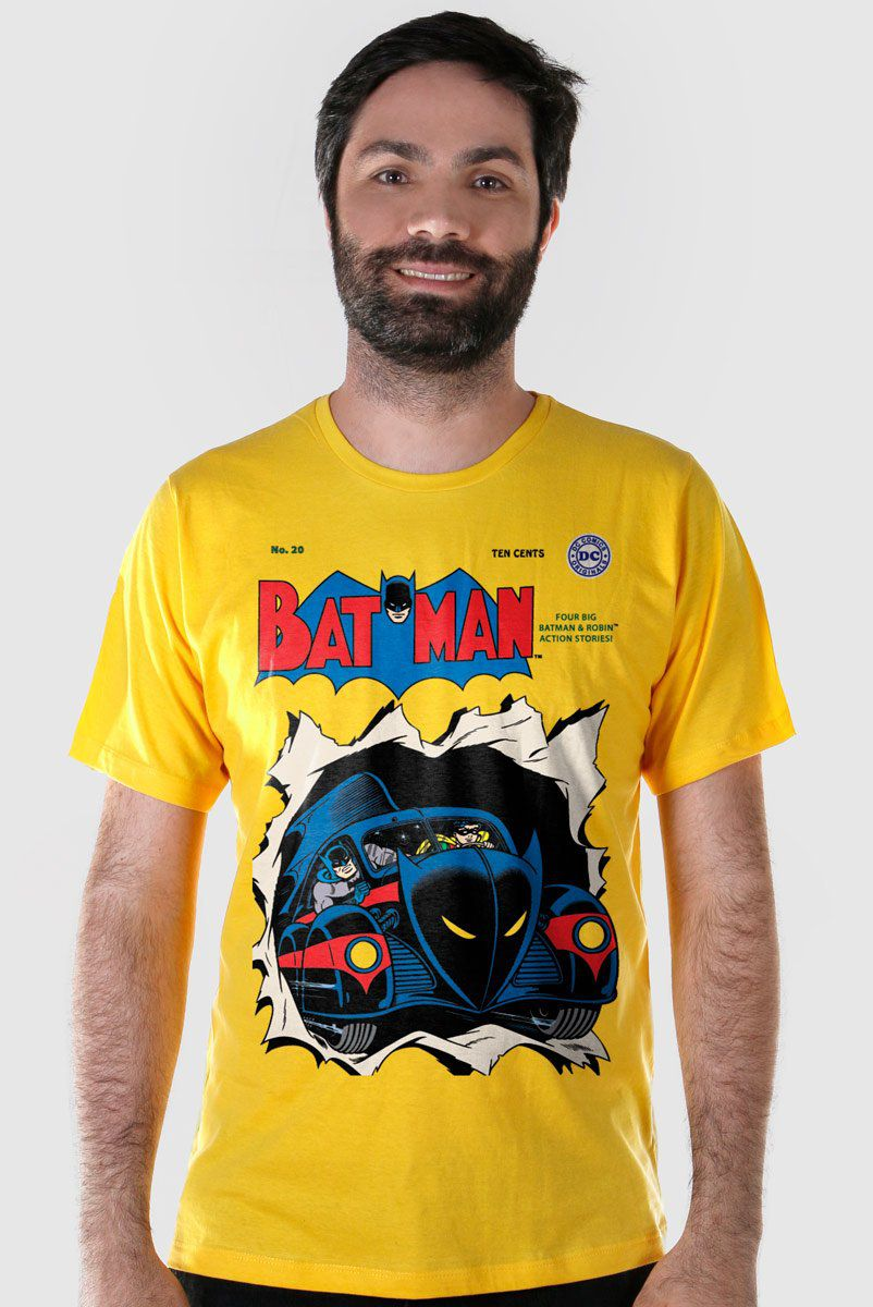 Camiseta Masculina Batman HQ Nº 20  - bandUP Store Marketplace