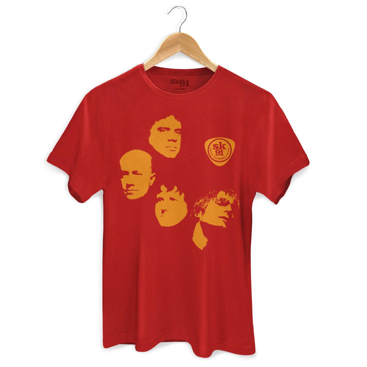 Camiseta Masculina SK91 Cosmotron Red  - bandUP Store Marketplace