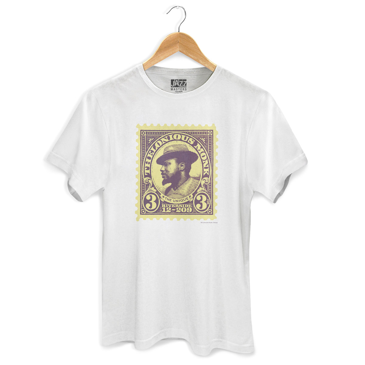 Camiseta Masculina Thelonious Monk The Unique  - bandUP Store Marketplace