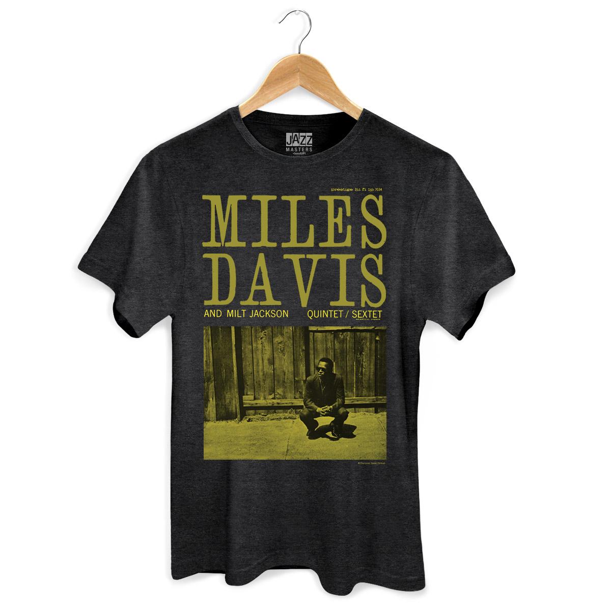 T-shirt Premium Masculina Miles Davis And Milt Jackson  - bandUP Store Marketplace