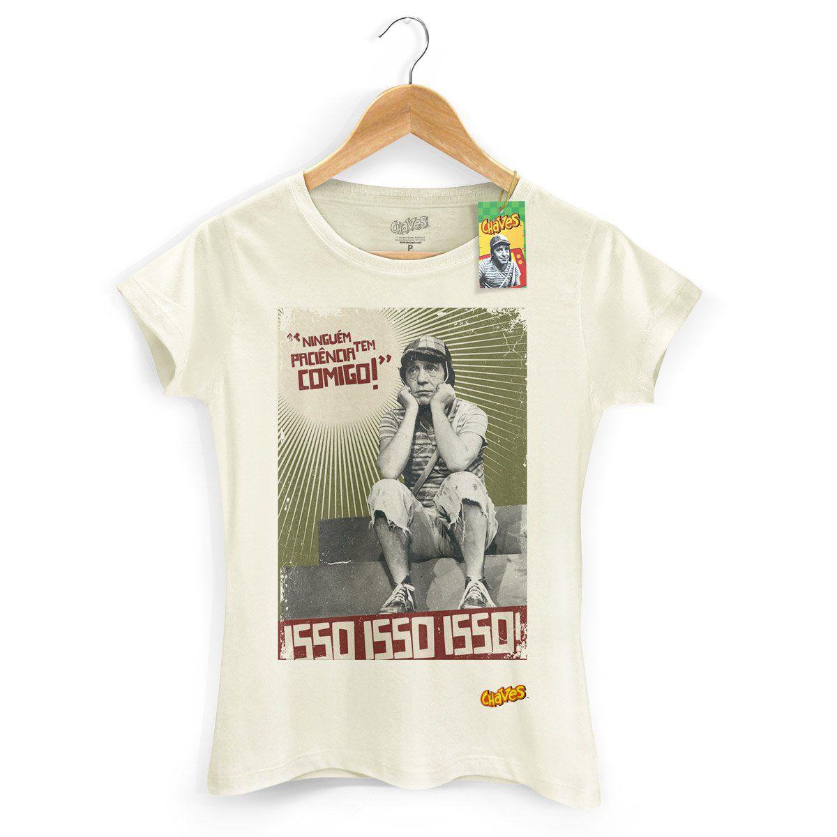 Camiseta Feminina Chaves Ninguém Tem Paciência Comigo! 2  - bandUP Store Marketplace