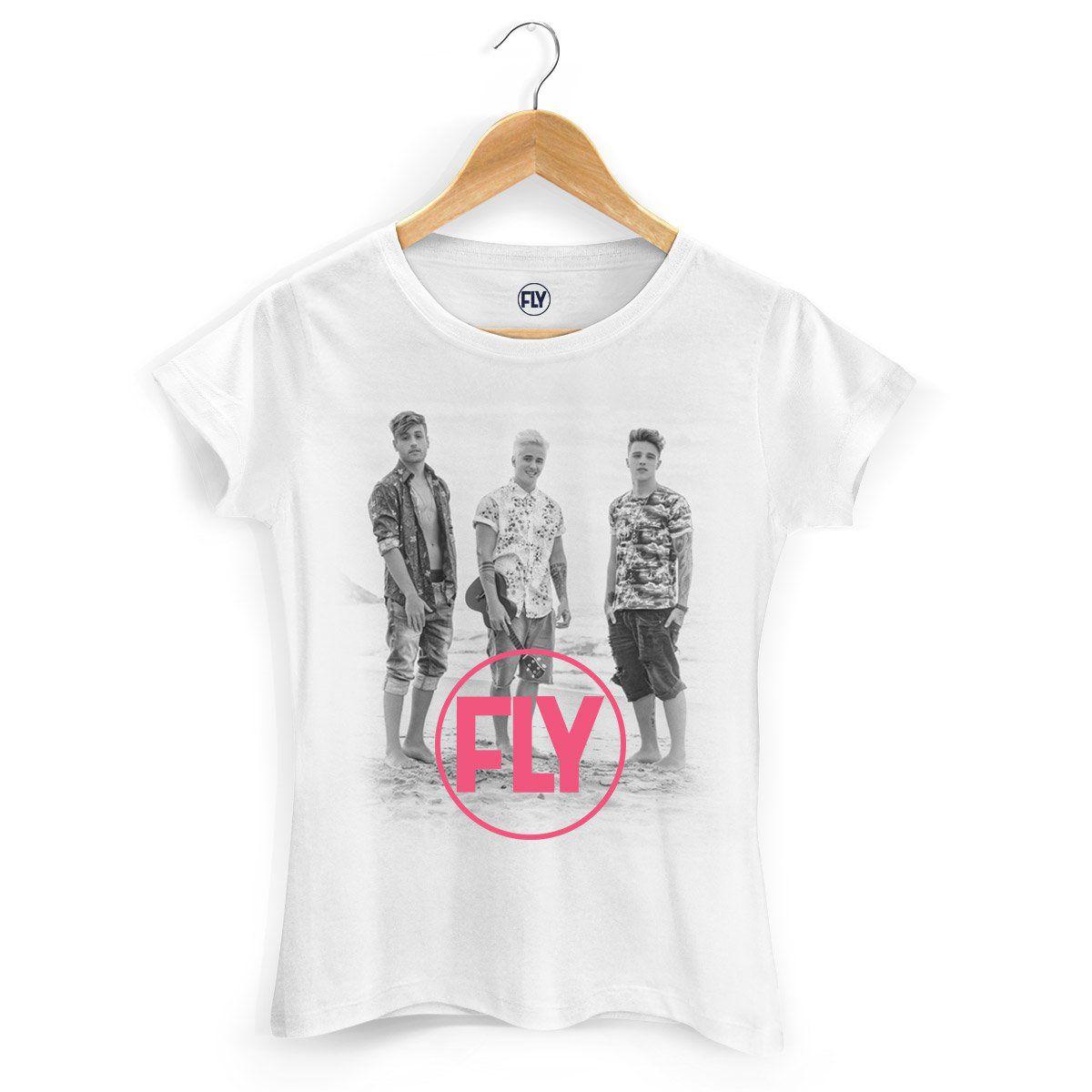 Camiseta Feminina Banda Fly Foto  - bandUP Store Marketplace