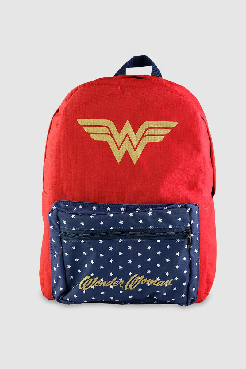 Mochila Wonder Woman Clássica  - bandUP Store Marketplace
