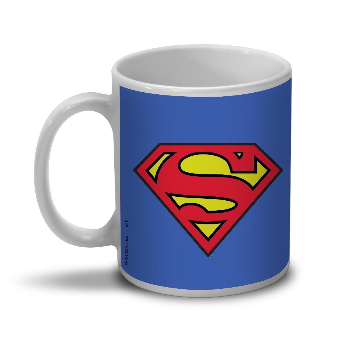 Caneca Superman Logo Superman Oficial  - bandUP Store Marketplace