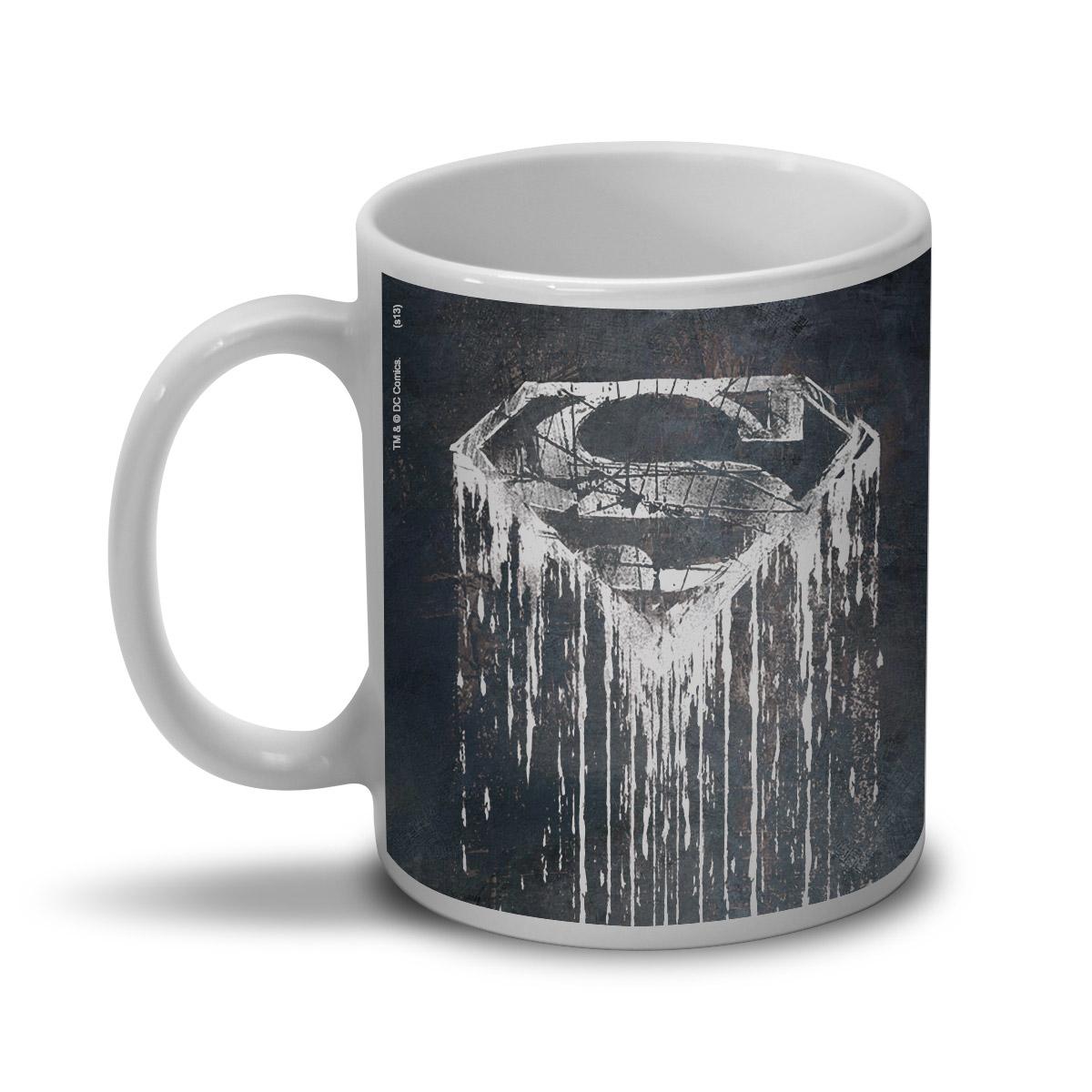 Caneca Superman Steel Melting  - bandUP Store Marketplace