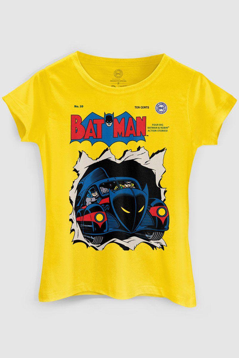 Camiseta Feminina Batman HQ Nº20  - bandUP Store Marketplace