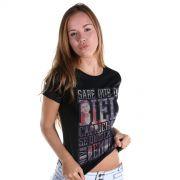 Camiseta Feminina Biel Demorô