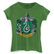 Camiseta Feminina Harry Potter Slytherin