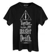 Camiseta Masculina Harry Potter The Deathly Hallows