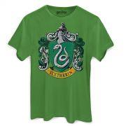 Camiseta Masculina Harry Potter Slytherin