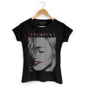 Camiseta Feminina Madonna Red Lips