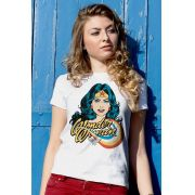 Camiseta Feminina Mulher Maravilha Photo DC Comics