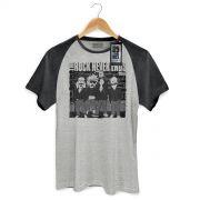Camiseta Premium Masculina 89FM A Rádio Rock Ramones Never Ends