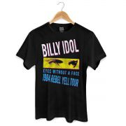 Camiseta Masculina Billy Idol Eyes Without a Face