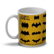 Caneca Batman 75 Anos Logos Collection