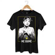 Camiseta Masculina MC Guimê Foto