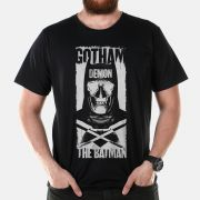 Camiseta Masculina Batman VS Superman Gotham Demon