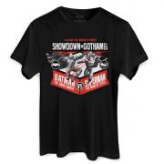 Camiseta Masculina Batman VS Superman Showdown In Gotham City