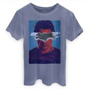 T-shirt Premium Masculina Batman VS Superman Man VS God