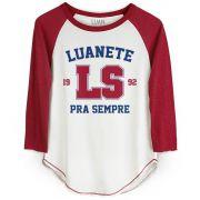Camiseta Raglan Feminina Luan Santana LS 1992