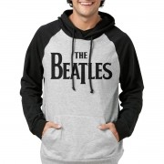 Moletom Raglan The Beatles Logo