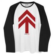 Camiseta Raglan Masculina NXZero Norte