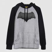 Moletom Raglan Batman VS Superman Logo Batman