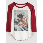 Camiseta Manga Longa Feminina Eyes of Tropicalia
